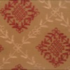 SILK DUPIONI EMBROIDERED-MED - SWT COPPER [EMBM928]