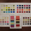 COLORCARDS nil - CRDSET SILK TEXTURES FOR FASHION FABRICS [STED1]