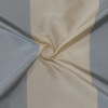 SILK TAFFETA STRIPES - BUFFALO STRP BLUE HAZE/ECRU  [TFS424]