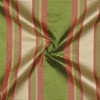 SILK TAFFETA STRIPES - VRT STRP RED/GRN/TAN  [TFS535]