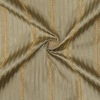 SILK TAFFETA STRIPES - STRP BABY BLUE/TAN  [TFS541]